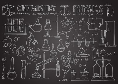 Set of physical and chemical equipment