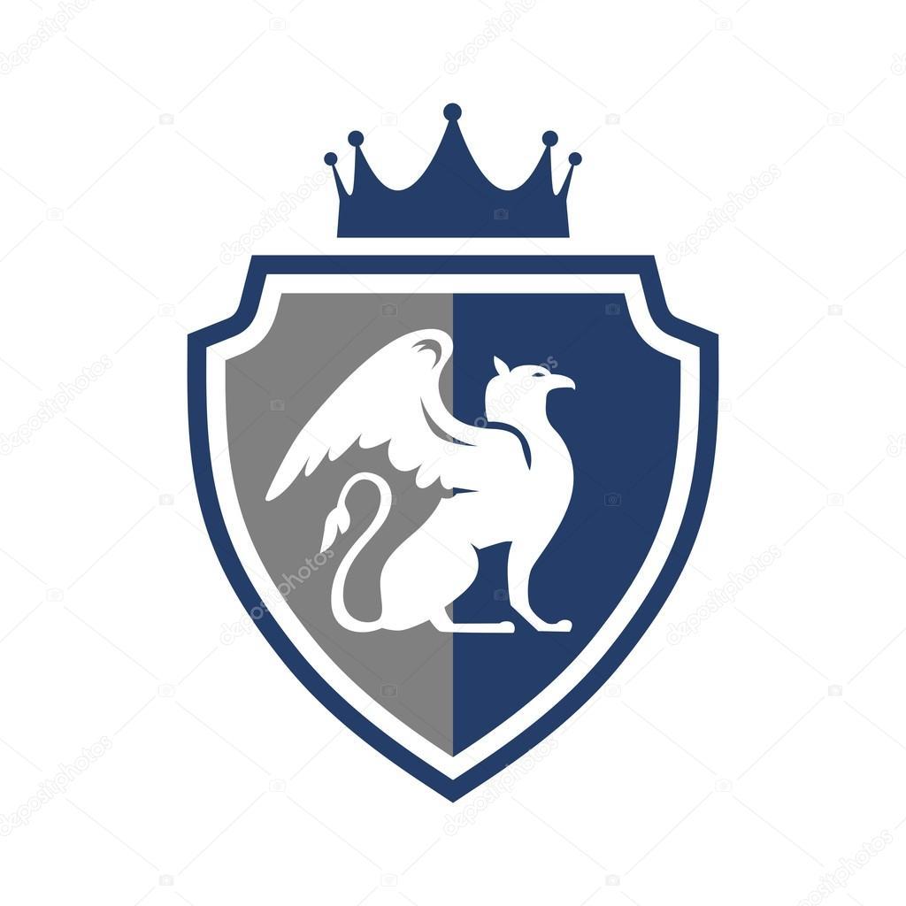 Shield Logo Template — Stock Vector © mehibi #80334318