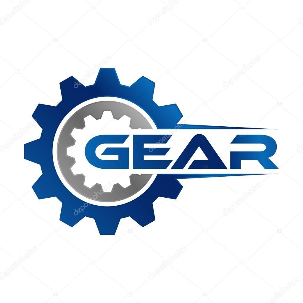 gear logo template � stock vector 169 mehibi 80335040