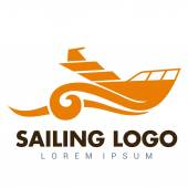 Photo Boat Logo Template