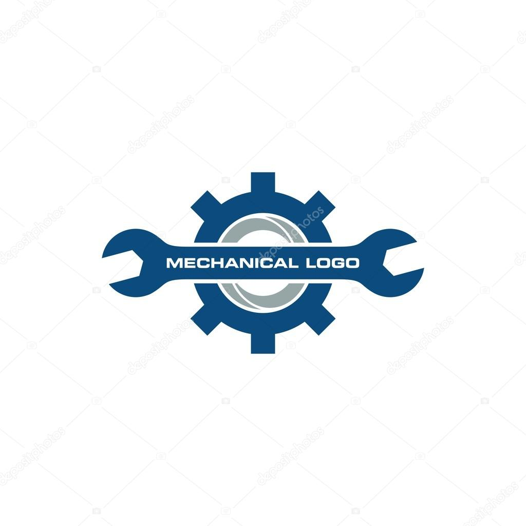 mechanical gear logo template � stock vector 169 mehibi