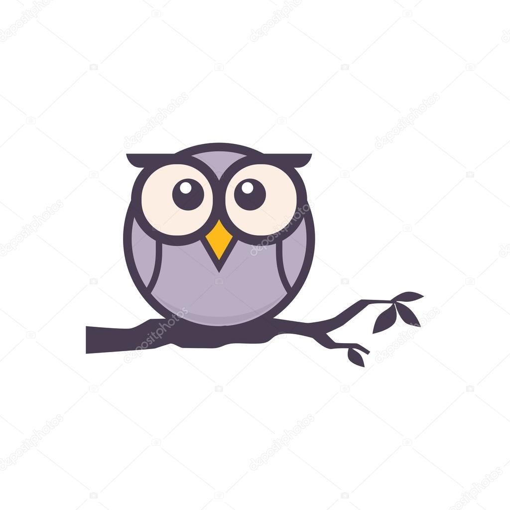 Eule-Logo-Vorlage — Stockvektor © mehibi #80459434
