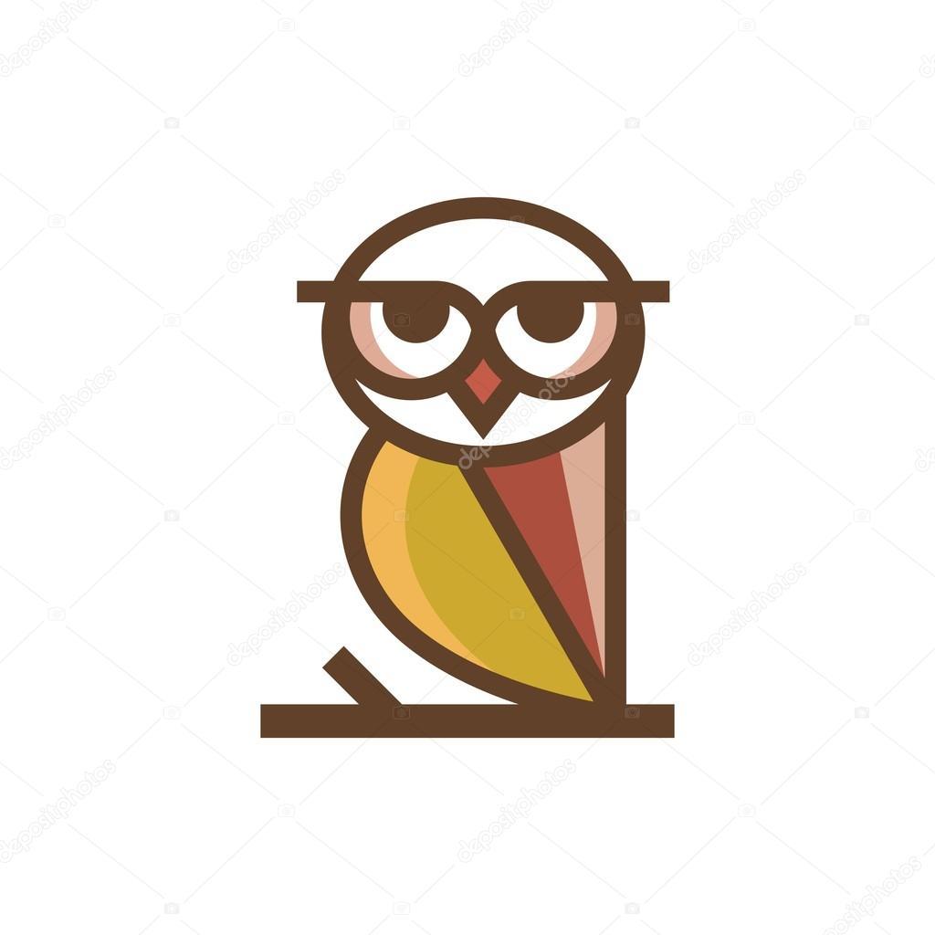 Eule-Logo-Vorlage — Stockvektor © mehibi #80459446
