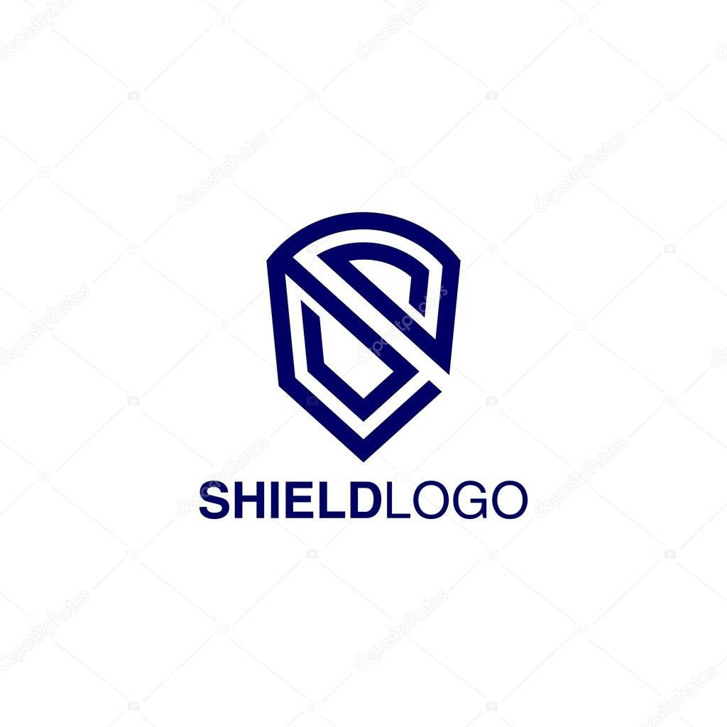 Shield Logo Template — Stock Vector © mehibi #80526262
