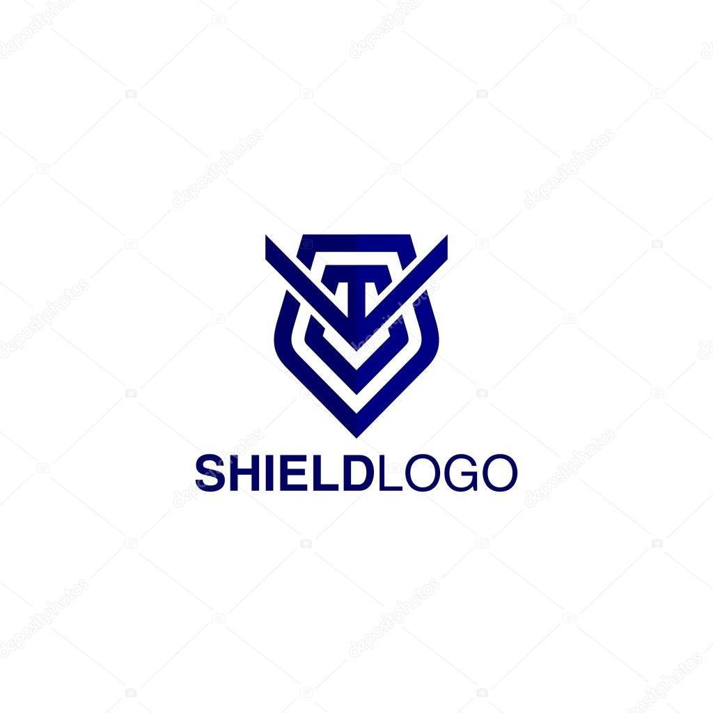 Shield Logo Template — Stock Vector © mehibi #80526300