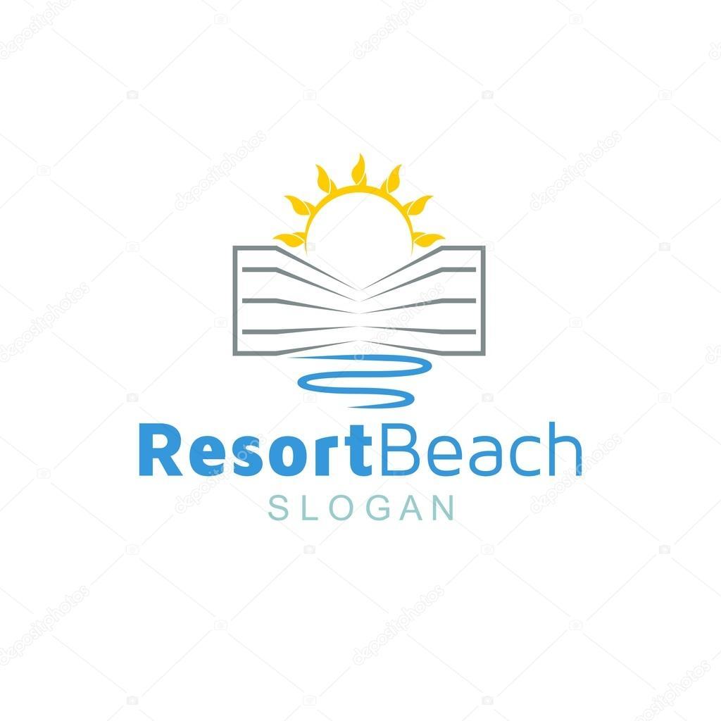 Resort Logo Template