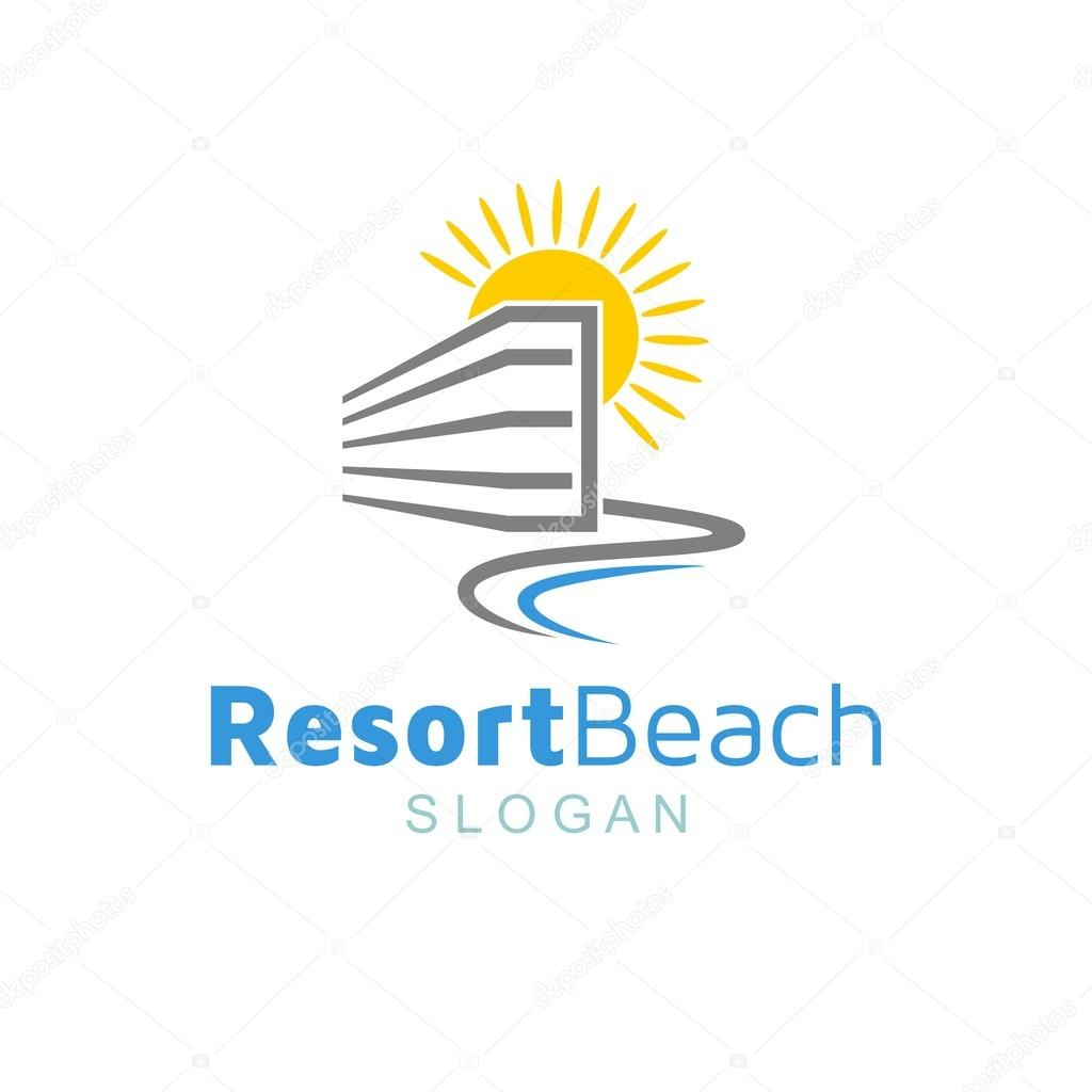 Resort Logo Template
