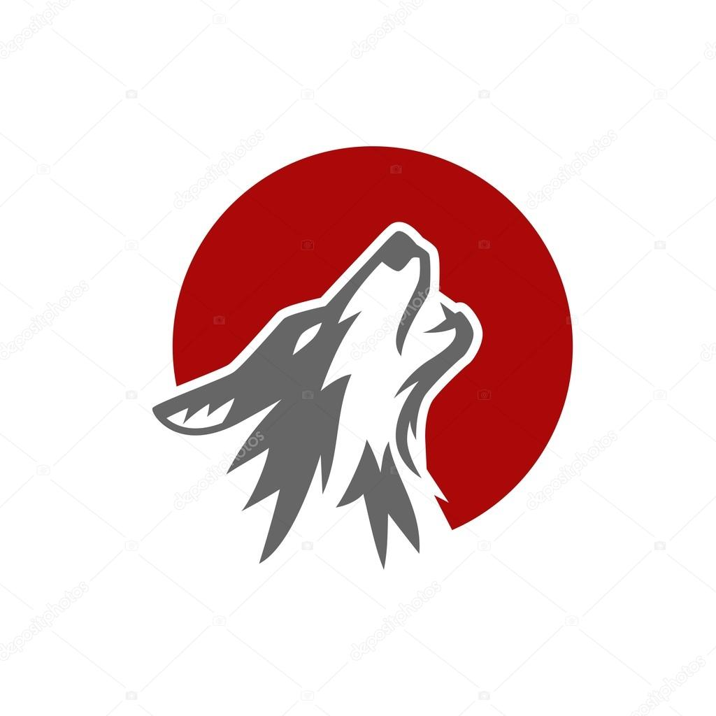 wolf logo template � stock vector 169 mehibi 81331676