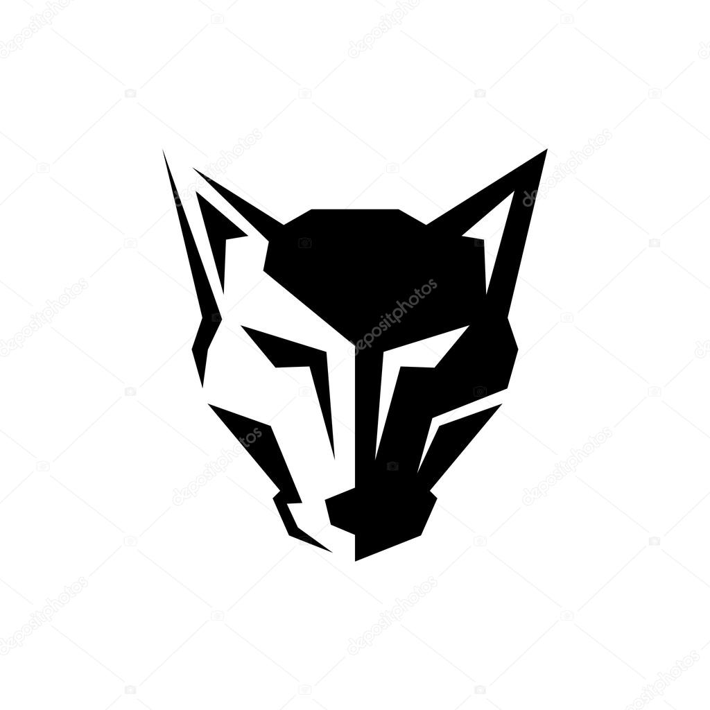 wolf logo template � stock vector 169 mehibi 81331782