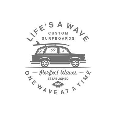 Vintage Surf Template