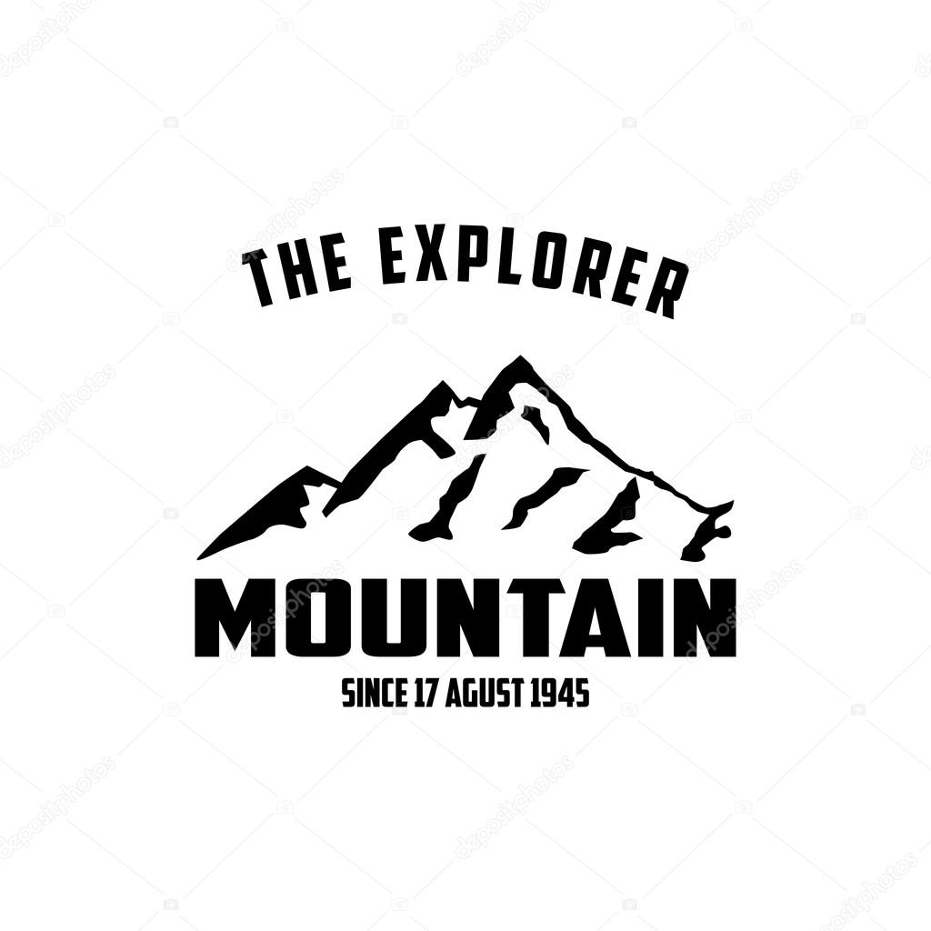 mountain logo template stock vector mehibi 82679948