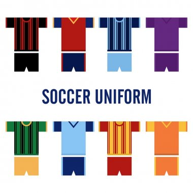 Soccer Uniform Logo Template