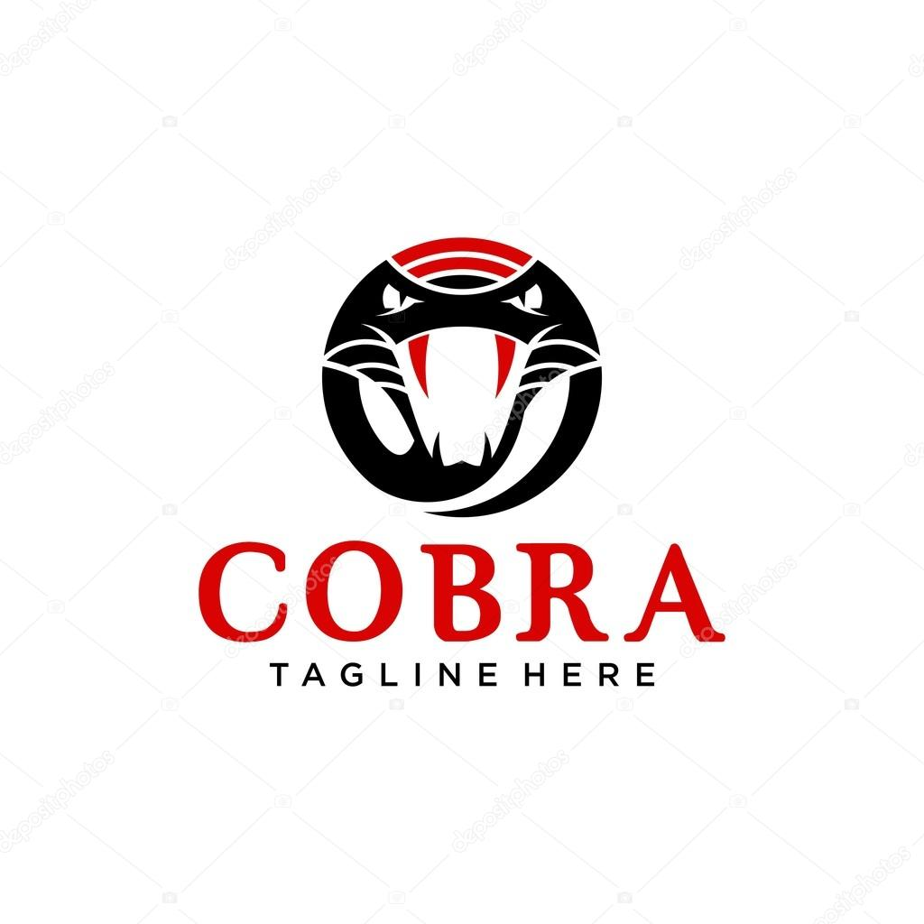 cobra logo template stock vector c mehibi 82977288 https depositphotos com 82977288 stock illustration cobra logo template html