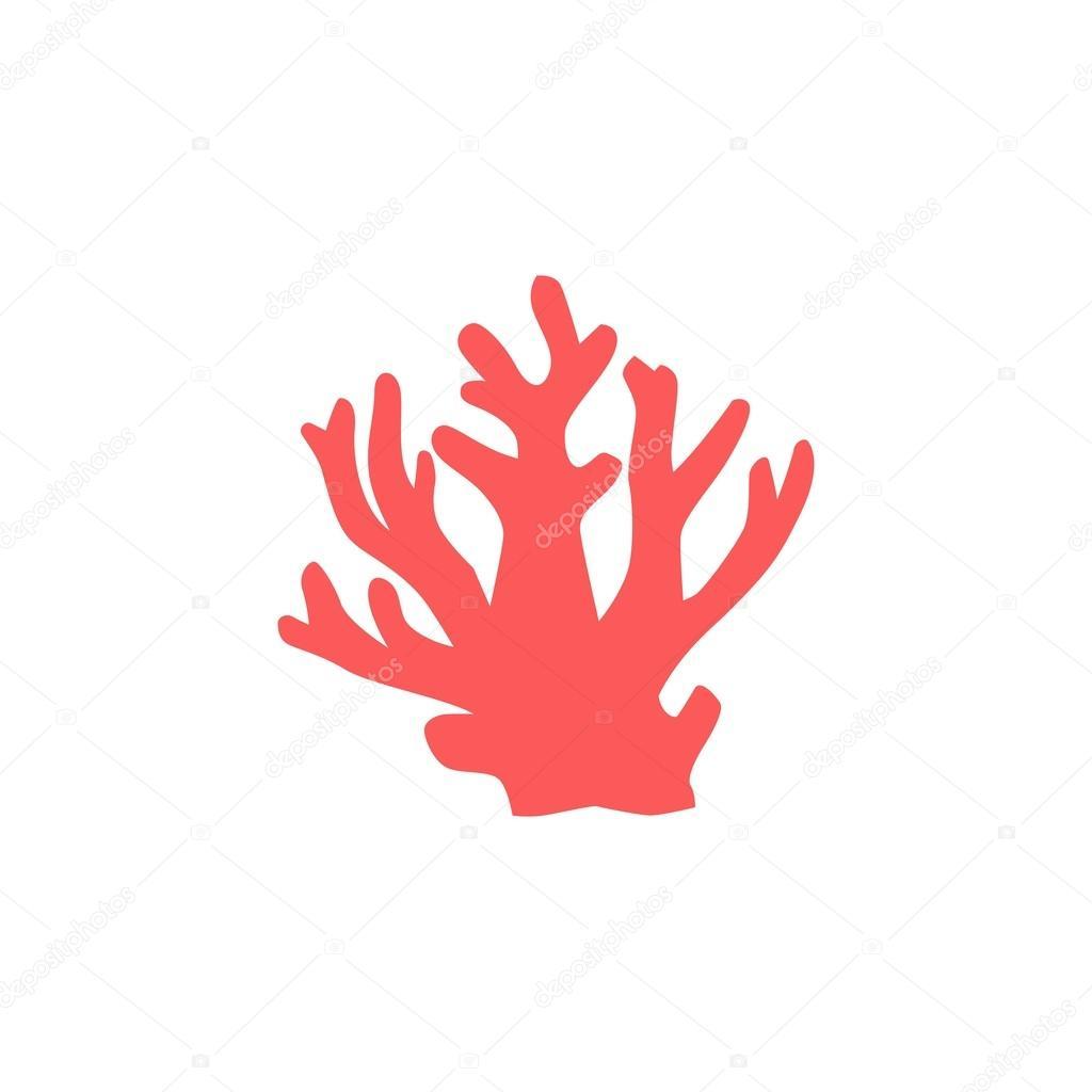 Coral und Stern-Fisch-Logo-Vorlage — Stockvektor © mehibi #83088968