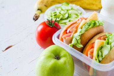 Lunch box - sandwiches