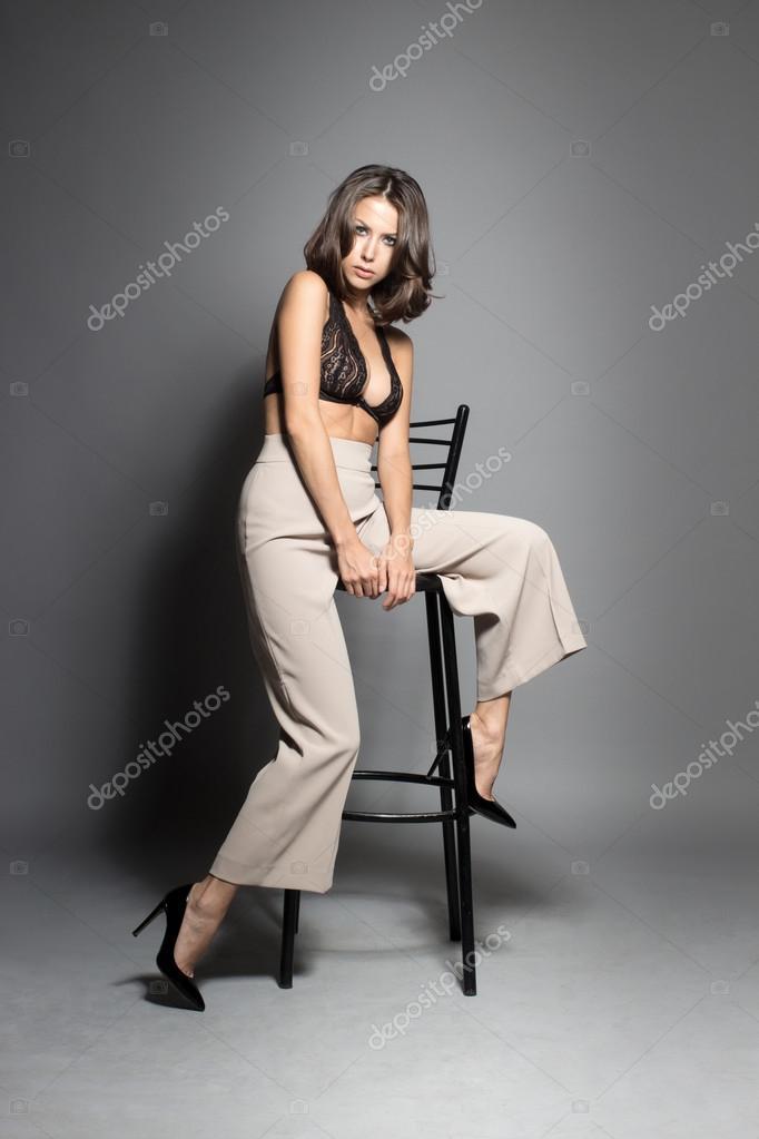 Shy sexy women