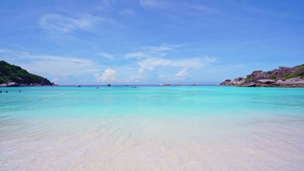 Beautiful tropical sea Amazing ocean sea at Similan Islands No.8 Similan Islands Beautiful island in Phang Nga, Thailand Nature and travel concept