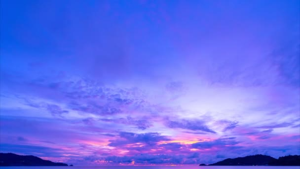 4K Time lapse Amazing color Majestic sunset or sunrise landscape Amazing light of nature cloudscape sky and Clouds moving away rolling 4k colorful dark sunset clouds Footage timelapse dramatic sky