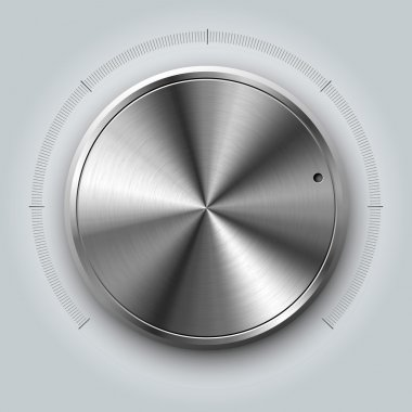 realistic volume knob