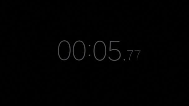 Stopky digitální hodiny časovač