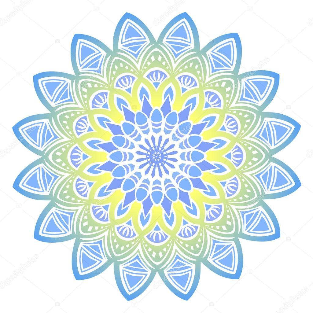 Mandala Elementos Decorativos Tarjetas Ideales Para Diseno