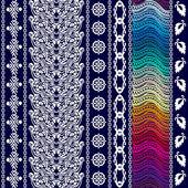 Fotografie Kreative böhmischen Muster mit Aborigine-Kunst und Zigeuner-Motiven