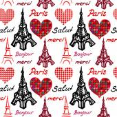 Paris seamless pattern.