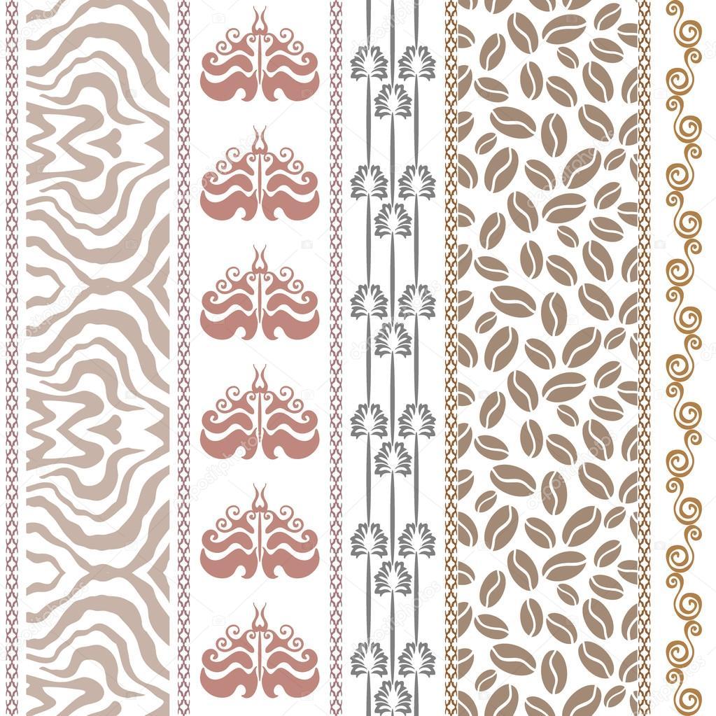 Papel estampado vintage | Art Deco vintage seda papel pintado con ...