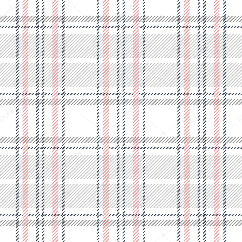 Creativo cuadros de patrones sin fisuras. Tela de algodón a cuadros ...