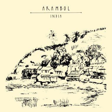 Arambol, Goa, India.