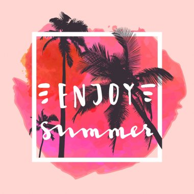Enjoy Summer greeting card