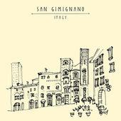 Fotografia San gimignano, Toscana, Italia