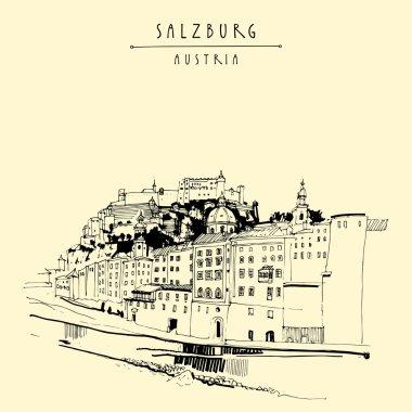 Salzburg skyline, Austria, Europe