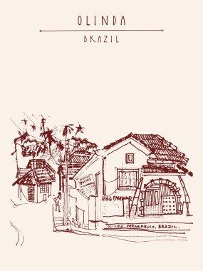 colonial house Olinda, Brazil