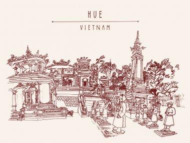 Tomb of Khai Dinh emperor.