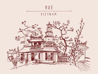 Thien Mu pagoda temple