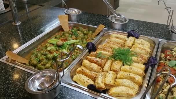Tabulka potravin - bufet - snídaní