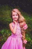 Fotografie Rapunzel, dlouhý cop