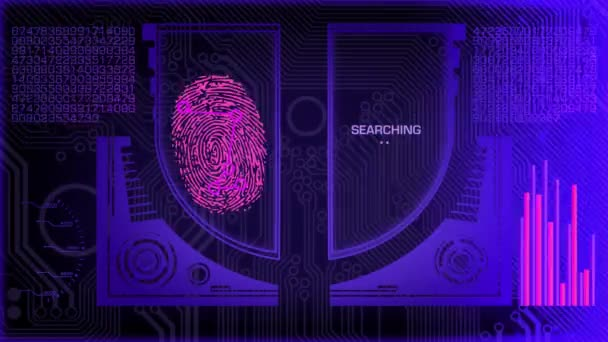 Fingerprint Scanner - Program - Blue