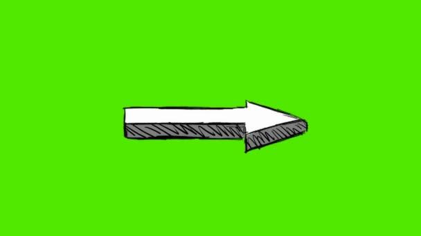 Hand Drawn Arrow - Rotation