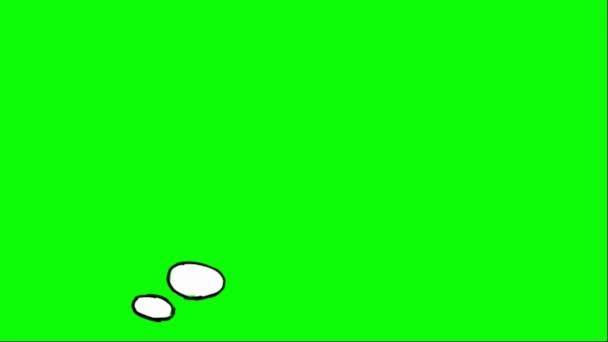 Kézzel húzott - léggömb - 01 gondolkodó szó