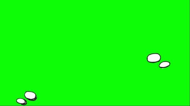 Kézzel húzott - léggömb - 06 gondolkodó szó