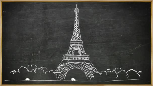 Eiffelova věž - tabuli 02