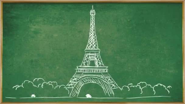 Eiffelova věž - tabuli 01