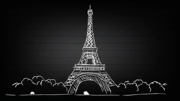 Eiffel Tower - Spotlight Background