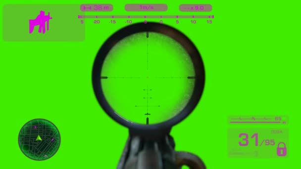 Sniper - First Person Shooter - Purple