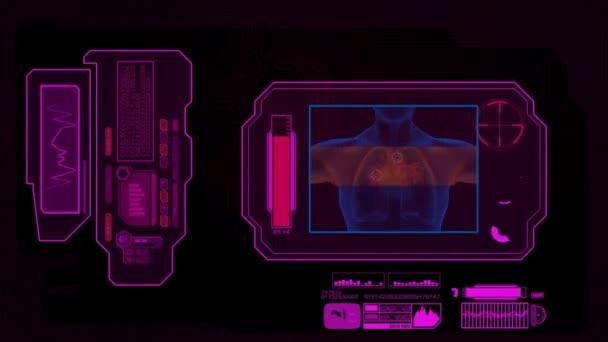 Digitális elemzés - szív - rózsaszín