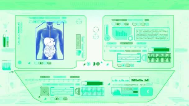 Trávení lékařské Check - zelené  bílé