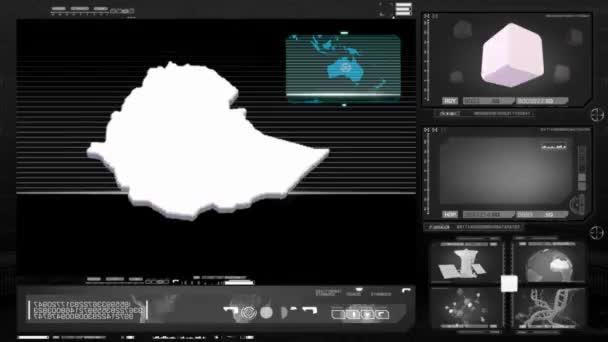 ethiopia - computer monitor - black 0