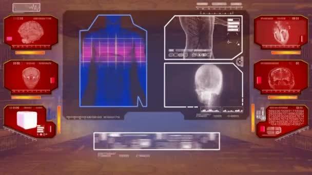 Trávení analýza - High Tech Scan - červená 01